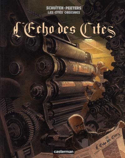 Couverture Les cités obscures hors série tome 6 - l'écho des cités