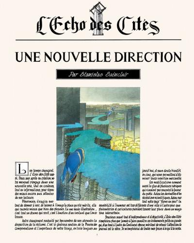 Page 5 Les cités obscures hors série tome 6 - l'écho des cités