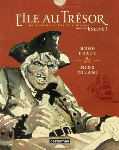 Couverture L'ile au trésor, de Robert Louis Stevenson