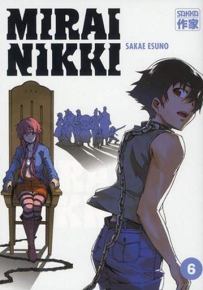 Couverture Mirai nikki tome 6