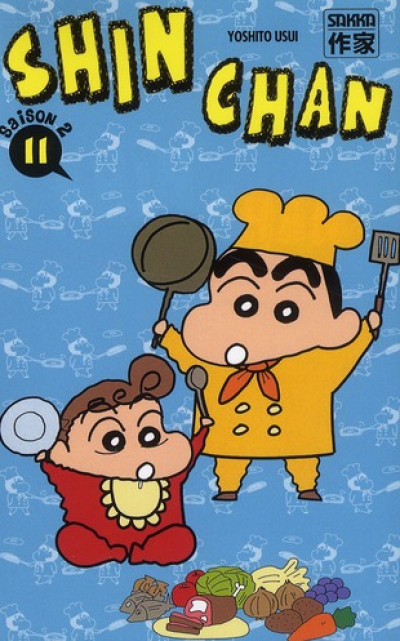 Couverture Shin chan, saison 2 tome 11