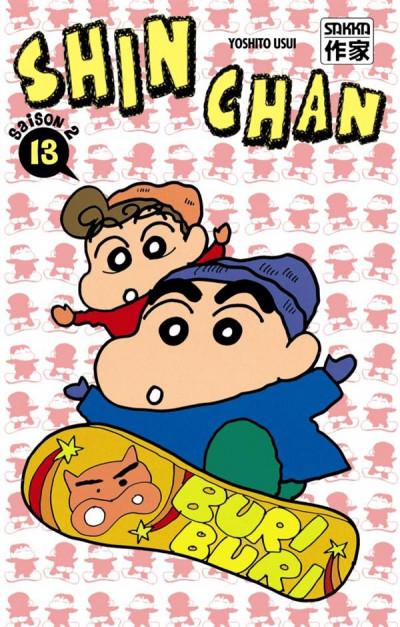 Couverture Shin chan, saison 2 tome 13