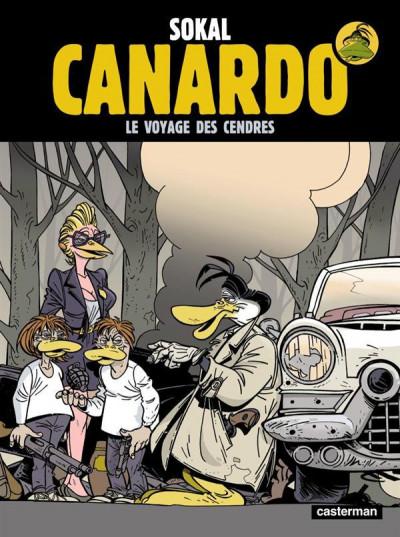 Couverture Canardo tome 19 - le voyage des cendres
