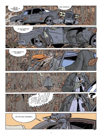 Page 1 Canardo tome 19 - le voyage des cendres
