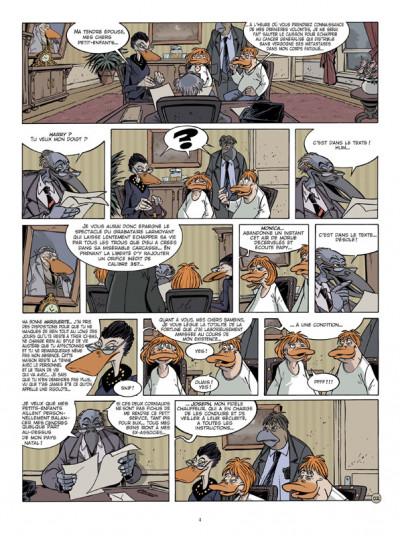 Page 2 Canardo tome 19 - le voyage des cendres