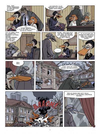 Page 3 Canardo tome 19 - le voyage des cendres