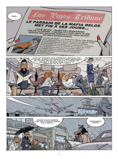 Page 4 Canardo tome 19 - le voyage des cendres