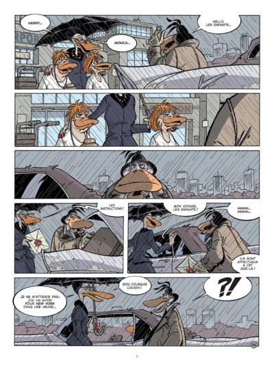 Page 5 Canardo tome 19 - le voyage des cendres
