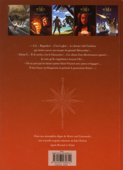 Dos H.M.S. - his majesty's ship tome 6 - le sang de Caroline