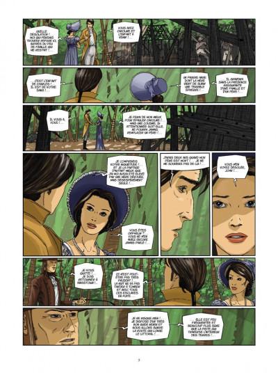 Page 3 H.M.S. - his majesty's ship tome 6 - le sang de Caroline