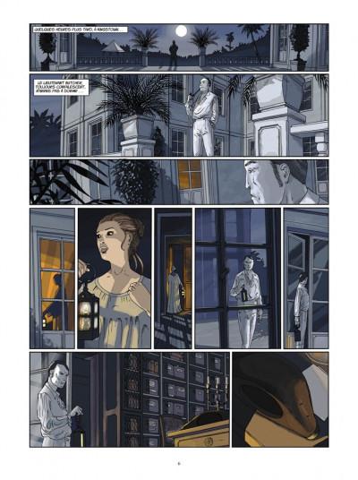 Page 4 H.M.S. - his majesty's ship tome 6 - le sang de Caroline