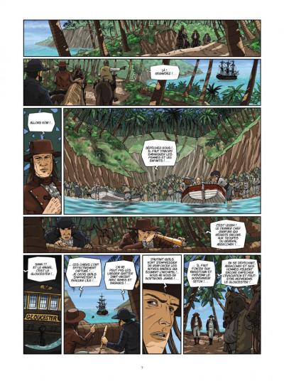 Page 5 H.M.S. - his majesty's ship tome 6 - le sang de Caroline