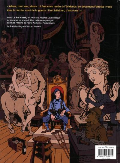 Dos Le roi cassé  (nouvelle édition 2010)