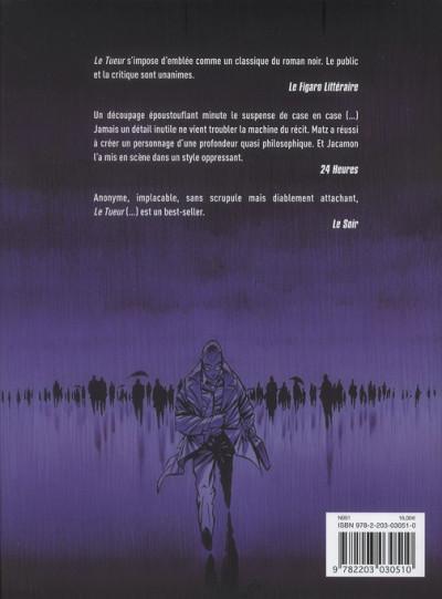 Dos Le tueur - intégrale tome 2
