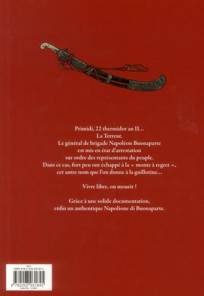 Dos Napoléon Bonaparte tome 2