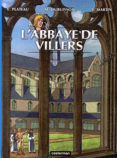 Couverture Les voyages de Jhen tome 13 - l'abbaye de Villers