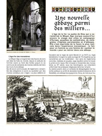Page 1 Les voyages de Jhen tome 13 - l'abbaye de Villers