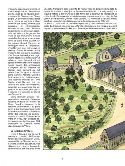 Page 3 Les voyages de Jhen tome 13 - l'abbaye de Villers