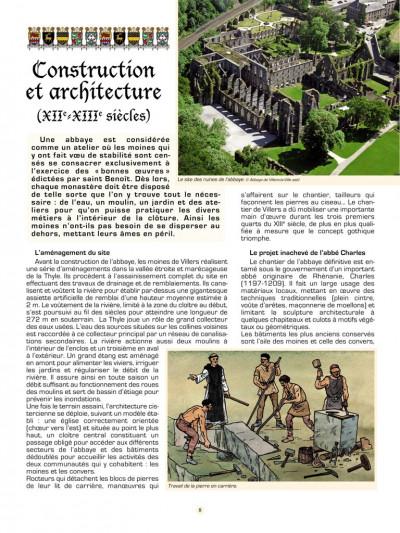 Page 5 Les voyages de Jhen tome 13 - l'abbaye de Villers
