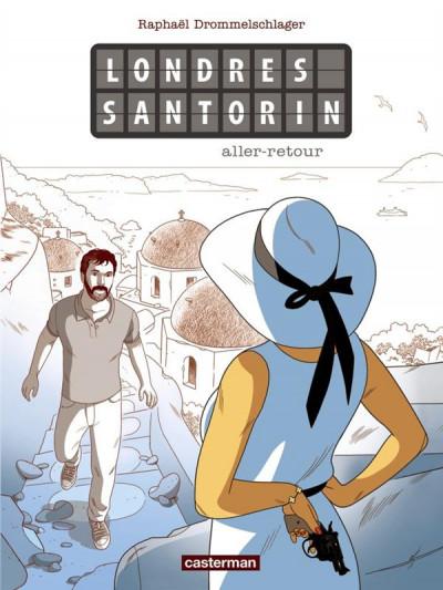 Couverture Londres Santorin aller-retour