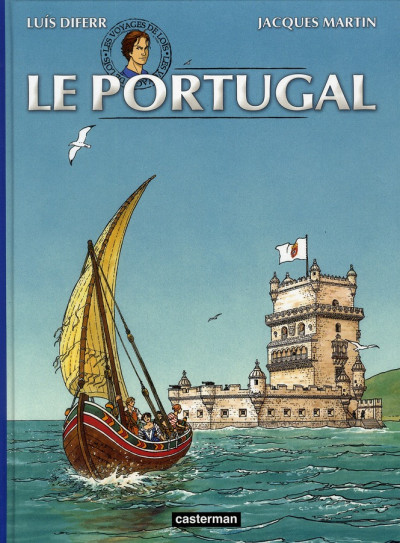 Couverture Les voyages de loïs tome 2 - le portugal