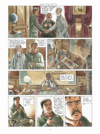 Page 4 Africa dreams tome 2 - Dix volontaires sont arrivés enchaînés