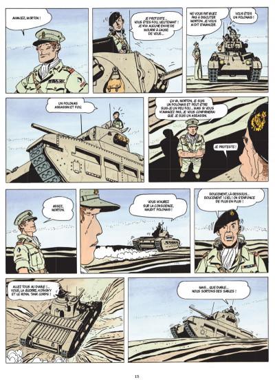 Page 3 Les scorpions du désert tome 2 (nouvelle édition)