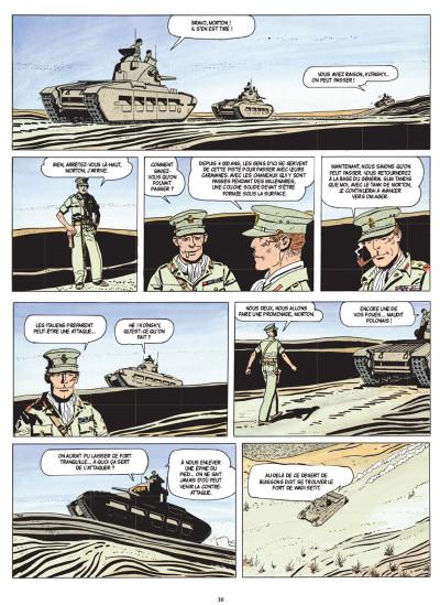 Page 4 Les scorpions du désert tome 2 (nouvelle édition)