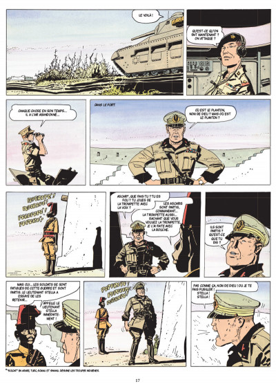 Page 5 Les scorpions du désert tome 2 (nouvelle édition)