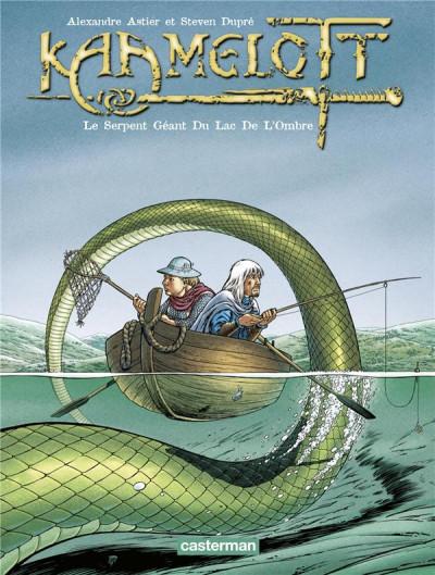 Couverture Kaamelott tome 5 - le serpent géant du lac de l'ombre