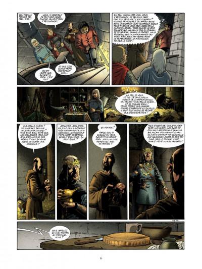 Page 4 Kaamelott tome 5 - le serpent géant du lac de l'ombre