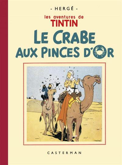 Couverture Tintin tome 9 - le crabe aux pinces d'or (fac-similé N&B 1941 - Petit format)