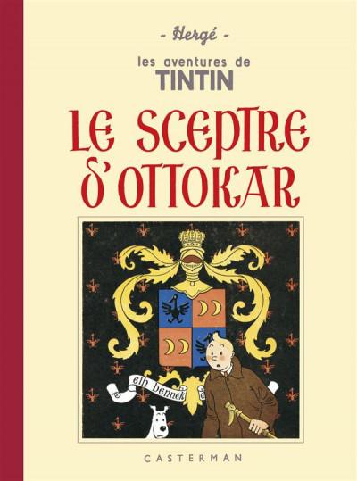 image de Tintin tome 8 - le sceptre d'ottokar (fac-similé N&B 1938-39 - Petit format)