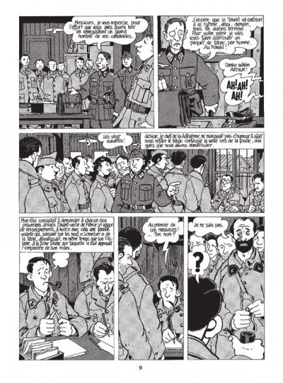 Page 3 Nestor Burma tome 2 - 120 rue de la gare