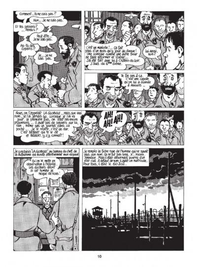Page 4 Nestor Burma tome 2 - 120 rue de la gare