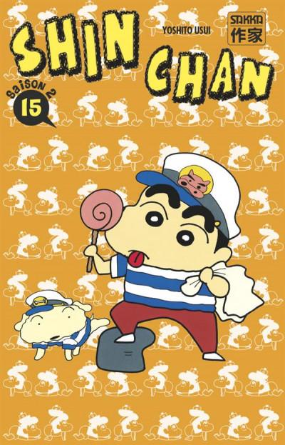 Couverture Shin chan, saison 2 tome 15