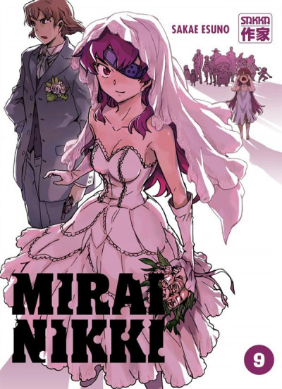 Couverture Mirai nikki tome 9