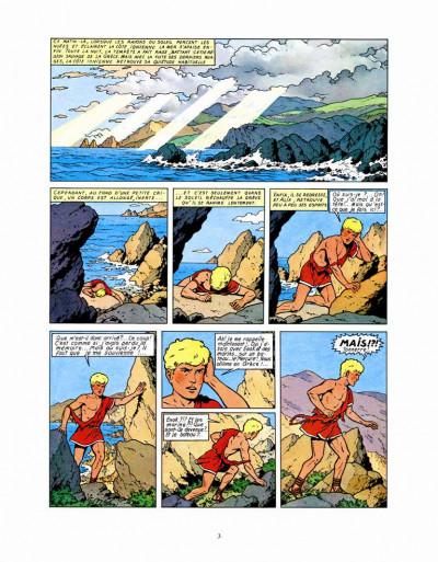 Page 1 les aventures d'Alix ; le dernier spartiate