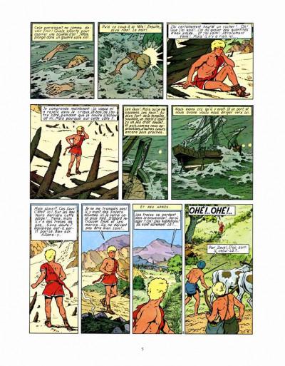 Page 3 les aventures d'Alix ; le dernier spartiate