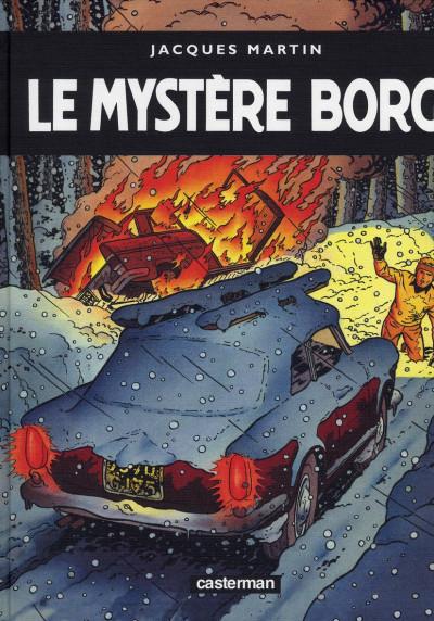 image de Lefranc tome 3 - le mystère Borg - édition de luxe géante