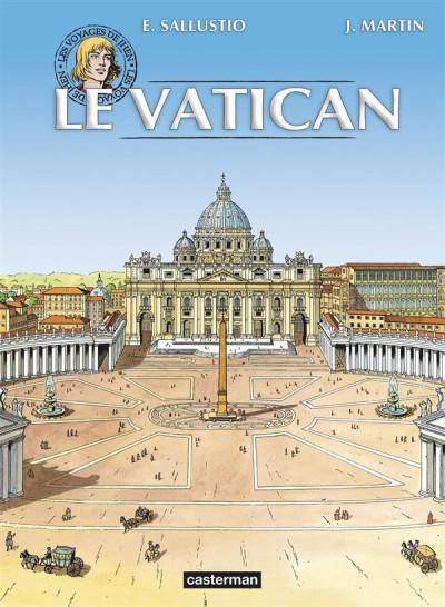 Couverture Les voyages de jhen - Vatican