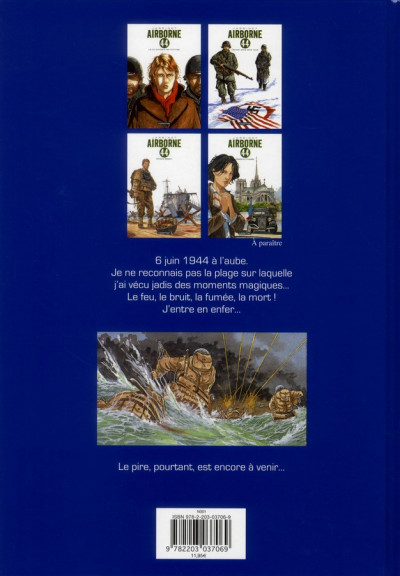 Dos Airborne 44 tome 3