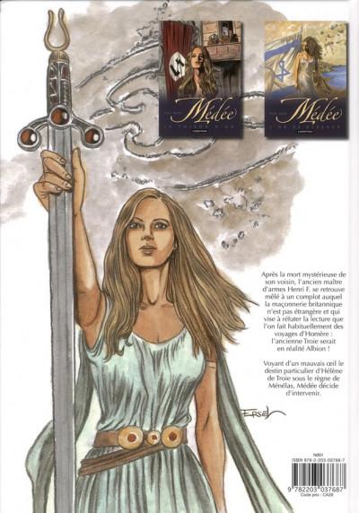 Dos Médée tome 3 - l'épée de Troie