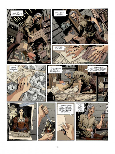 Page 2 Dracula l'immortel tome 1