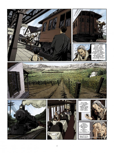 Page 3 Dracula l'immortel tome 1