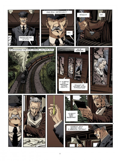 Page 4 Dracula l'immortel tome 1