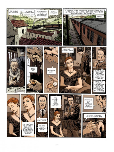 Page 5 Dracula l'immortel tome 1