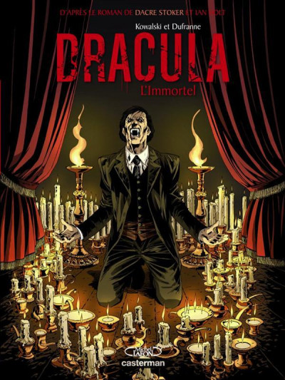 Couverture Dracula l'immortel tome 2