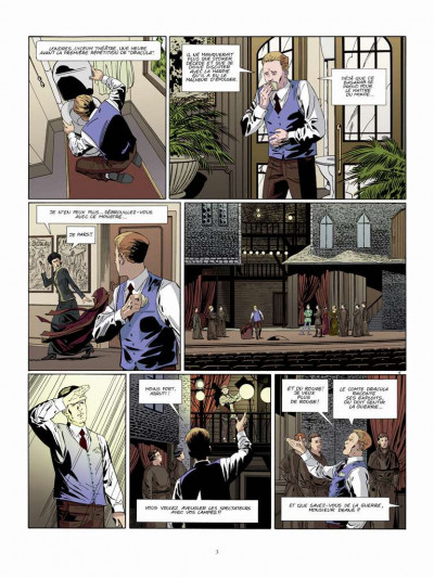 Page 1 Dracula l'immortel tome 3