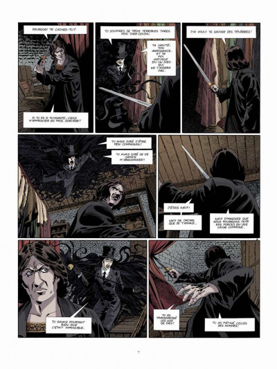 Page 5 Dracula l'immortel tome 3